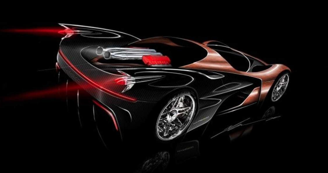 هایپرود، هایپرکاری با پیشرانهٔ 16 سیلندر متشکل از دو موتور V8 شورلت