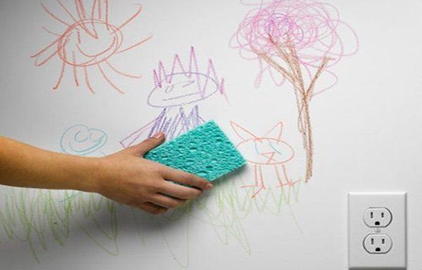 تمیز کردن کاغذ دیواری با روش های ساده و کاربردی