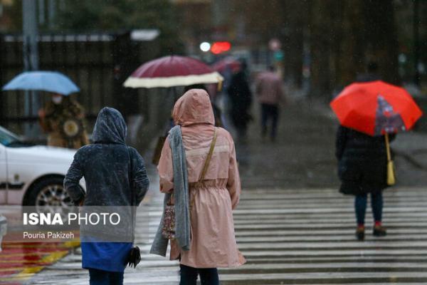 ورود سامانه بارشی جدید به کشور طی هفته آینده، پیش بینی فرایند افزایشی دمای ایران از شنبه