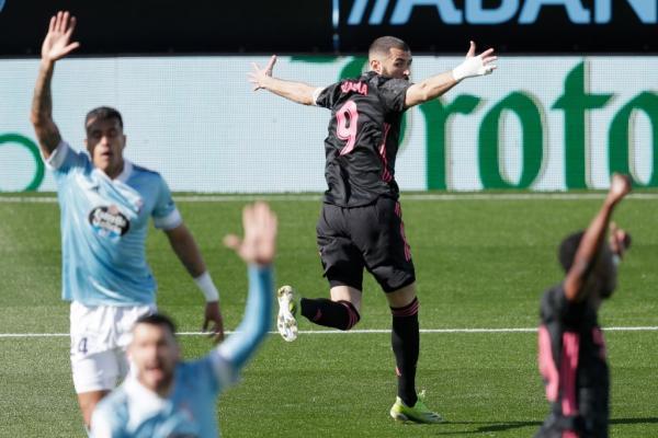سلتاویگو 1 - رئال مادرید 3؛ صعود به رده دوم با پیروزی خارج از خانه
