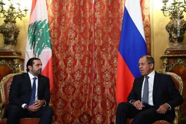 ملاقات سعد حریری با وزیر خارجه روسیه در مسکو