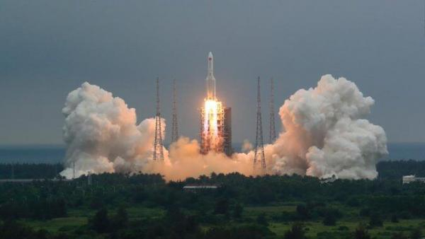 سی ان ان: بقایای موشک چینی در ترکمنستان فرود می آید، محل فرود دریا نیست بلکه زمین است