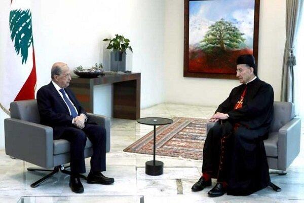 رایزنی اسقف مسیحیان مارونی لبنان با میشل عون