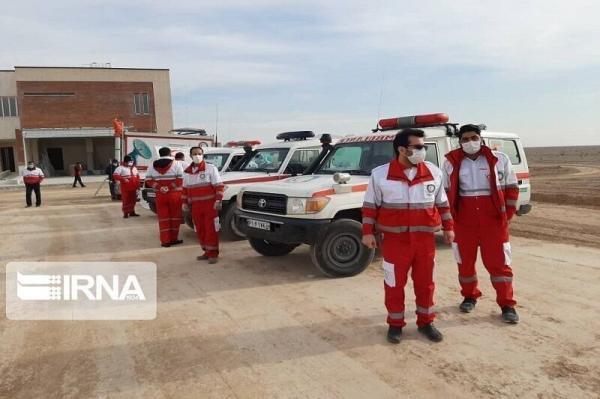 خبرنگاران تیم های ارزیاب جمعیت هلال احمر کردستان به مناطق زلزله زده اعزام شدند