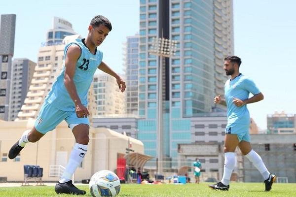 تمرین تیم ملی ایران بدون حضور ترکیب اصلی