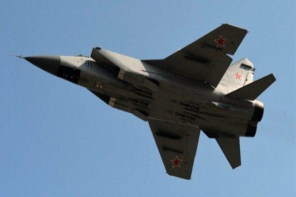 جنگنده روسیه هواپیمای شناسایی آمریکا را رهگیری کرد