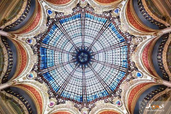 گالری لافایت، معروف ترین مرکز خرید پاریس، عکس