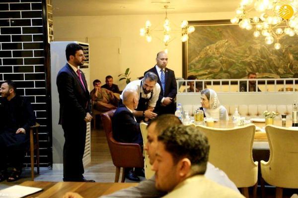 حضور اشرف غنی و همسرش در رستوران خبرساز شد