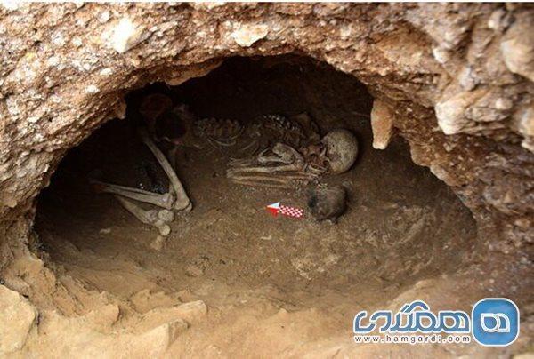 کشفی تازه در گورستان باستانی لیارسنگ بن گیلان
