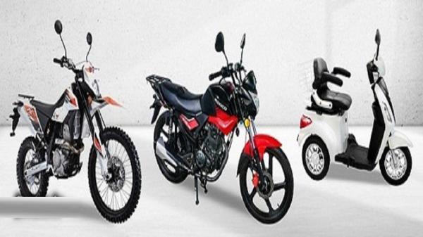 قیمت انواع موتورسیکلت در دوم خرداد 1400